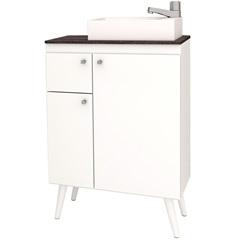 Gabinete em Mdp Itaúna 87x59,6cm Branco E Dakota - Cozimax