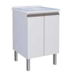 Gabinete Gaia 60 de Aço 56,9x57,2cm Branco - Cozimax