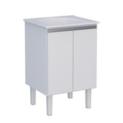 Gabinete Jaboti 60 em Mdp E Mdf 57,1x50,7cm Branco - Cozimax