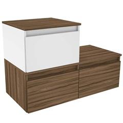 Gabinete para Banheiro em Mdf Florença 90x60cm Terracota - Darabas Agardi