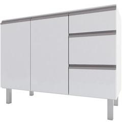 Gabinete para Cozinha em Aço Gaia 115,5 X 91cm Branco - Cozimax
