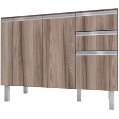 Gabinete para Cozinha em Mdf Tupã 114cm Tamarindo - Cozimax