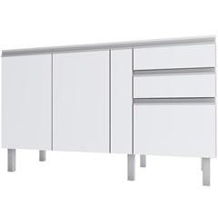 Gabinete para Cozinha em Mdf Tupã 144cm Branco - Cozimax