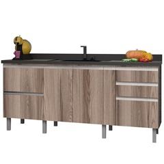 Gabinete para Cozinha em Mdf Tupã 174cm Tamarindo - Cozimax