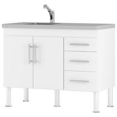 Gabinete para Cozinha em Mdp Flex 80x94cm Branco - MGM