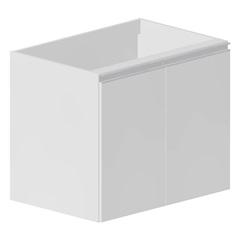 Gabinete para Cozinha Veneza 67x80cm Branco - Bonatto