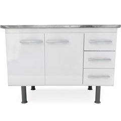 Gabinete Sonic para Pia de 120cm Branco - Bonatto