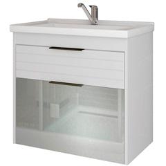 Gabinete Suspenso para Banheiro Azaléia 56x59cm Branco - MGM