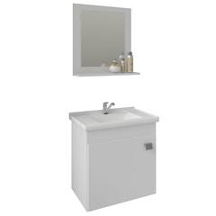 Gabinete Suspenso para Banheiro Íris 46x44,8cm Branco - MGM