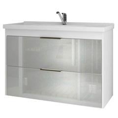 Gabinete Suspenso para Banheiro Lavanda 56x79,3cm Branco - MGM