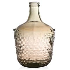Garrafa Decorativa em Vidro Ambar Colonial 12 Litros - Casa Etna