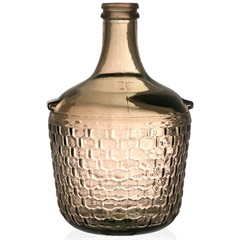Garrafa Decorativa em Vidro Ambar Colonial 4 Litros - Casa Etna