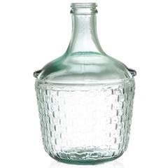 Garrafa Decorativa em Vidro Transparente Colonial 4 Litros - Casa Etna