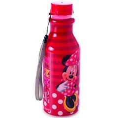 Garrafa Retrô Minnie Vermelha 500ml - Plasútil