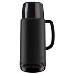 Garrafa Térmica Ideal 1 Litro Preta - Invicta
