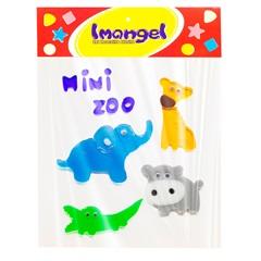 Gel Adesivo Mini Zoo Colorido 6x5x5mm - Imangel