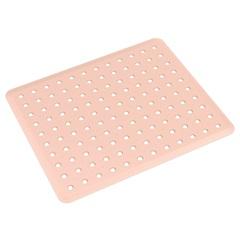 Grade de Pia Basic 32,8x27,8cm Rosa Blush - Coza