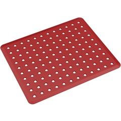 Grade de Pia Basic 32,8x27,8cm Vermelho Bold - Coza