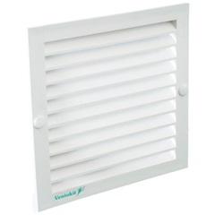 Grade de Ventilação 12x12cm Ventokit Branca