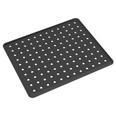 Grade para Pia Basic 32,8x27,8cm Preta - Coza