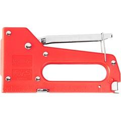 Grampeador Manual Profissional 6mm a 14mm Vermelho - MTX