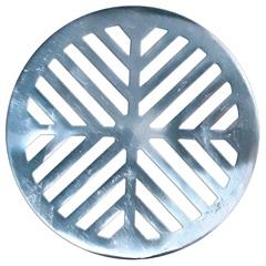 Grelha para Caixa Sifonada Redonda 10cm Alumínio - Costa Navarro