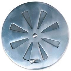 Grelha Regulável Redonda para Caixa Sifonada 10cm Alumínio - Costa Navarro