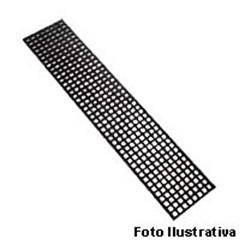 Grelha Reta 40x100cm Quadriculada - A Brazilian