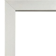 Guarnição em Alumínio para Porta de Correr Alumifort 218x200cm Branca - Sasazaki