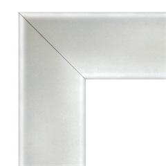 Guarnição em Alumínio para Porta Pivotante Branca 223,5x126,2cm - Sasazaki