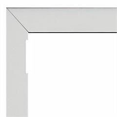 Guarnição para Janela Maxim-Ar com Tela Alumifort 60x100cm Branca - Sasazaki