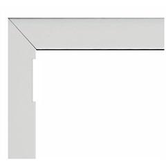 Guarnição para Janela Maxim-Ar com Tela Alumifort 60x80cm Branca - Sasazaki