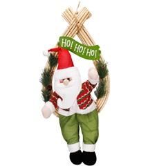 Guirlanda para Porta Papai Noel 55,5x28cm - Casanova