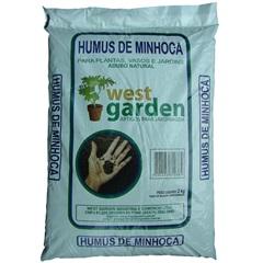 Húmus de Minhoca 2kg - West Garden