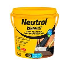 Impermeabilizante Asfáltico Neutrol Acqua Galão 3,6 Litros - Vedacit