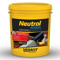 Impermeabilizante Asfáltico Neutrol Acqua Lata 900ml - Vedacit