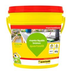 Impermeabilizante Manta Líquida Branca 18kg - Quartzolit