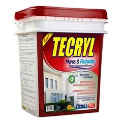 Impermeabilizante para Muros E Fachadas 20 Litros - Tecryl Impermeabilizantes