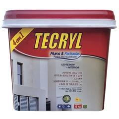 Impermeabilizante para Muros E Fachadas 4 Litros - Tecryl Impermeabilizantes