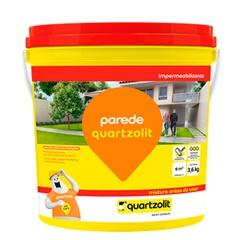 Impermeabilizante para Parede Branco 3,6kg - Quartzolit