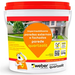 Impermeabilizante para Parede Branco 3,6kg
