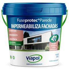 Impermeabilizante para Parede Fuseprotec 3,6 Litros - Viapol