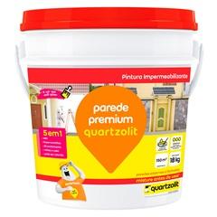 Impermeabilizante Parede Premium Branco 18kg - Quartzolit