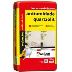 Impermeabilizante Tecplus Antiumidade Cinza 20kg - Quartzolit