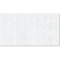 Inserto Esmaltado Acetinado Borda Reta Capitonne Branco 32x59cm - Incepa