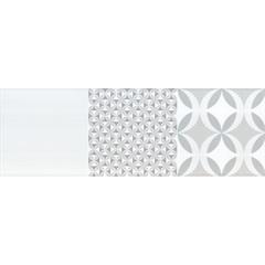 Inserto Esmaltado Acetinado Retificado Andy Nude 30x90,2cm - Incepa