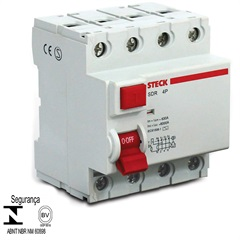 Interruptor Diferencial Idr 4p 40a 30ma - Steck