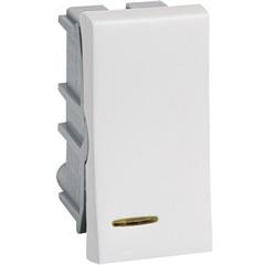 Interruptor Paralelo com Luz 10a 220v Pialplus Branco - Pial Legrand
