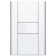 Interruptor Simples com Placa Modulare 10a 250v Branco - Fame