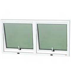 Janela Maxim-Ar com 2 Seções em Alumínio Confort 60x120 Branca - Brimak
